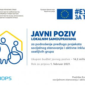 European Union invests EUR 14.2 mil for social housing and active inclusion of vulnerable groups